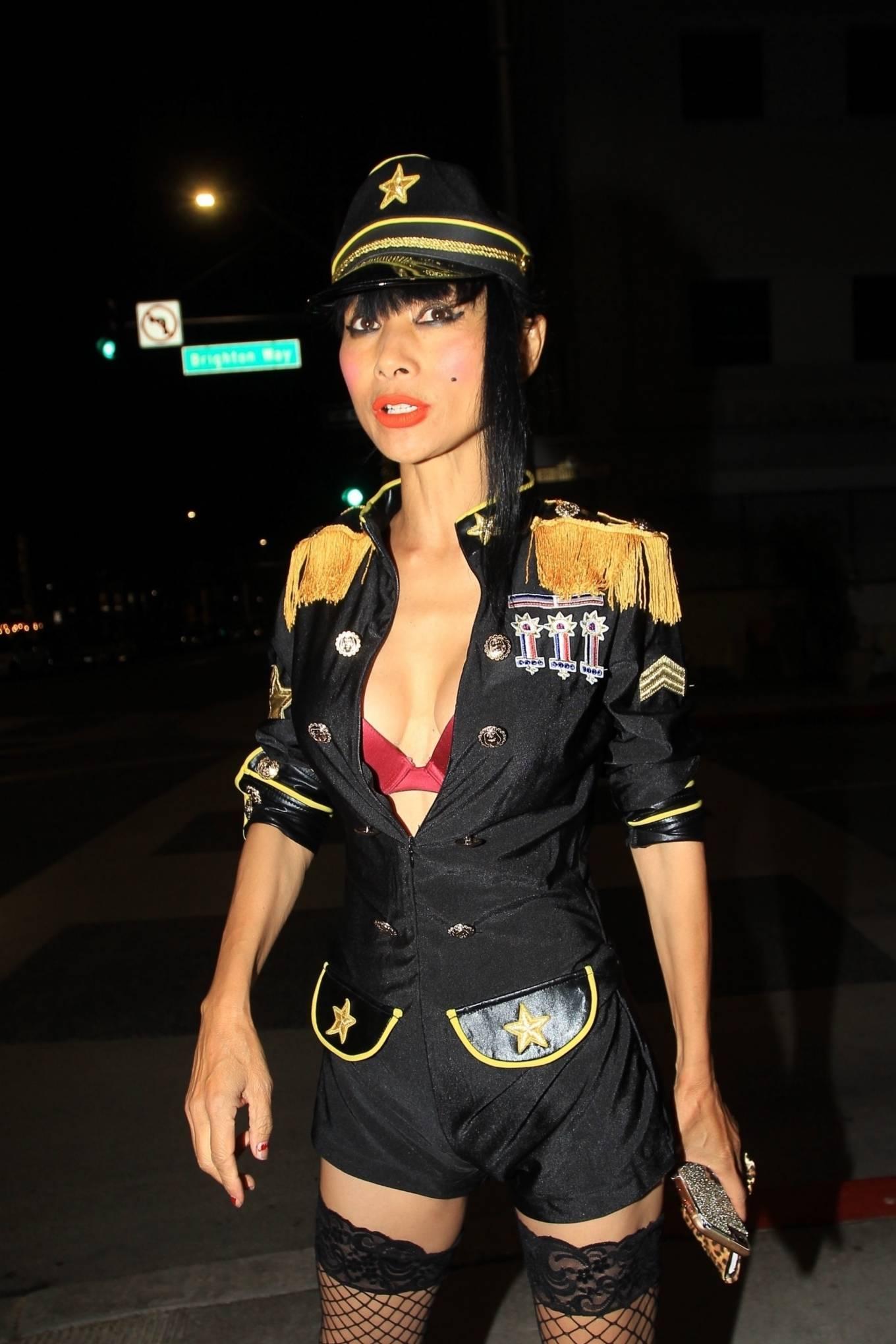 Bai Ling 2020 : Bai Ling – In a custom uniform in Beverly Hills-06