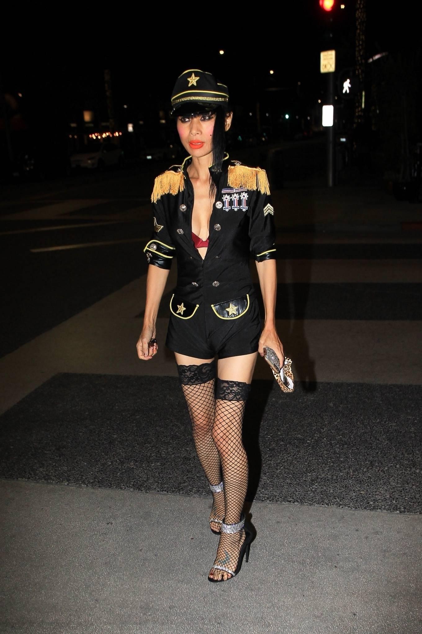 Bai Ling 2020 : Bai Ling – In a custom uniform in Beverly Hills-09