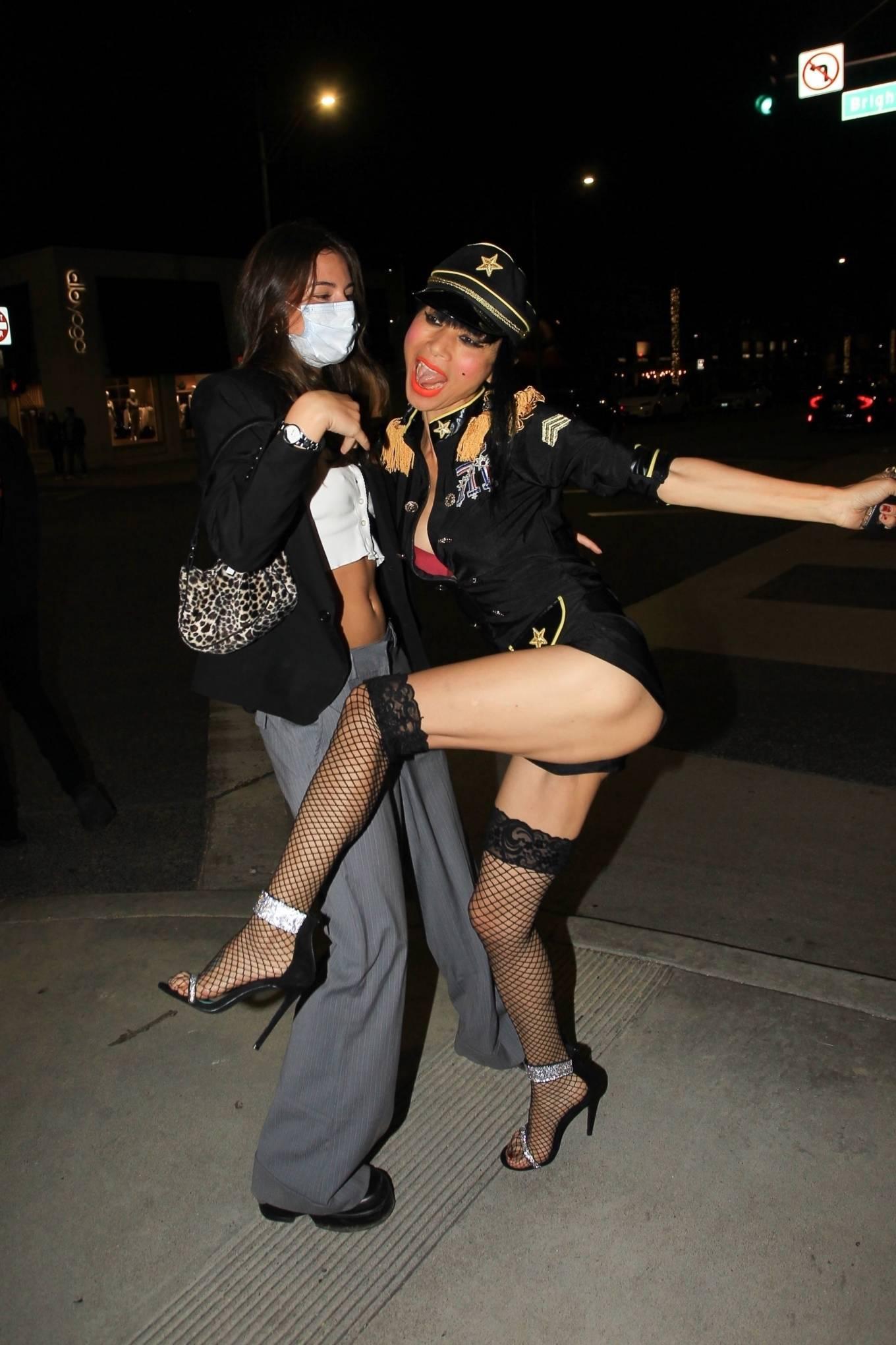 Bai Ling 2020 : Bai Ling – In a custom uniform in Beverly Hills-10