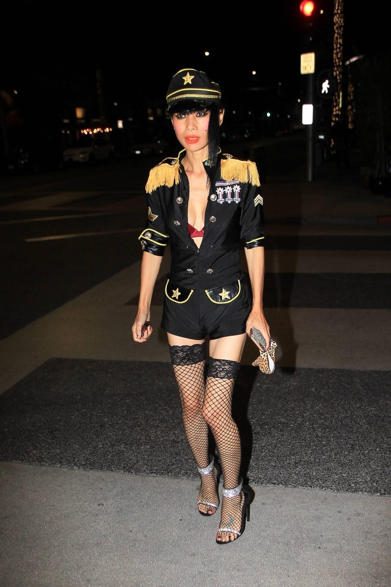 Bai Ling 2020 : Bai Ling – In a custom uniform in Beverly Hills-11
