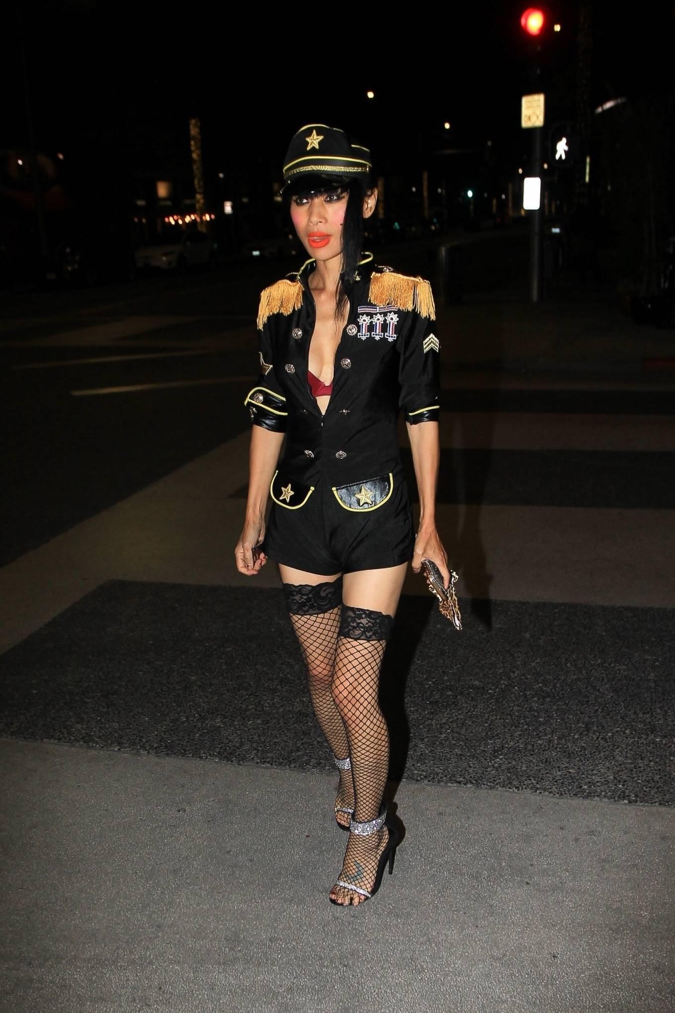 Bai Ling 2020 : Bai Ling – In a custom uniform in Beverly Hills-13