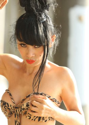 Bai Ling in Swimsuit 2016 -20