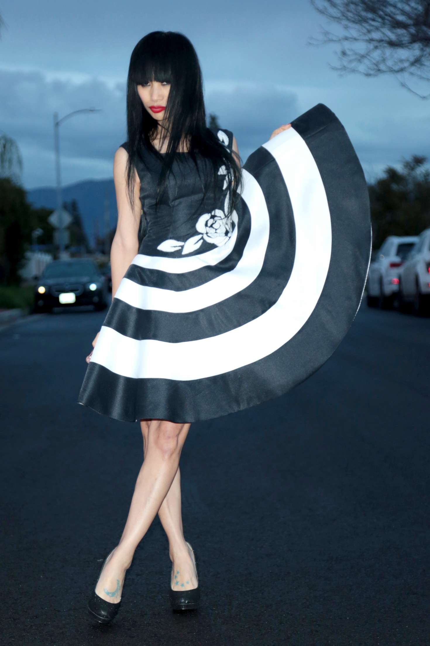 Bai Ling - Out in Los Angeles