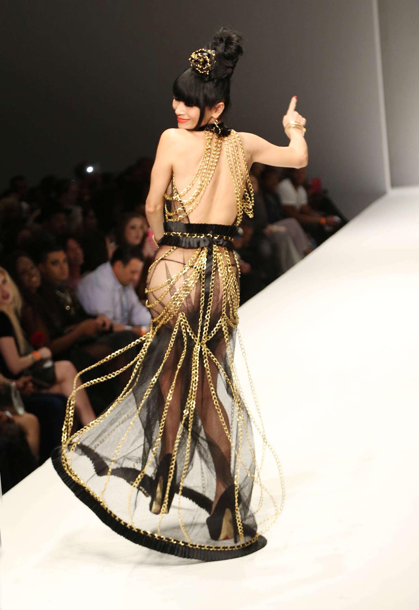 Bai Ling Style Fashion Week 2015 03 Gotceleb