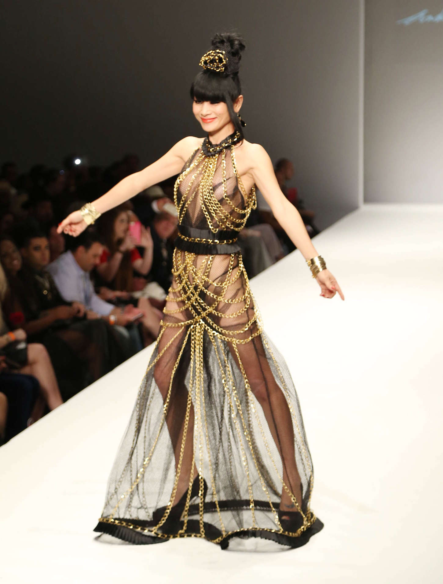 Bai Ling Style Fashion Week 2015 05 Gotceleb