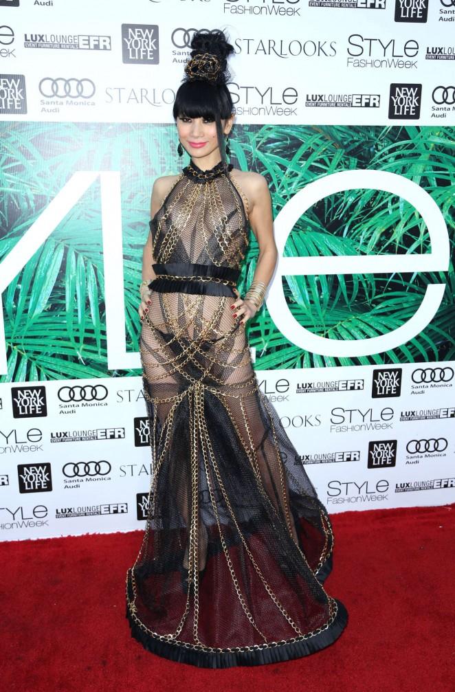 Bai Ling Style Fashion Week 2015 07 Gotceleb