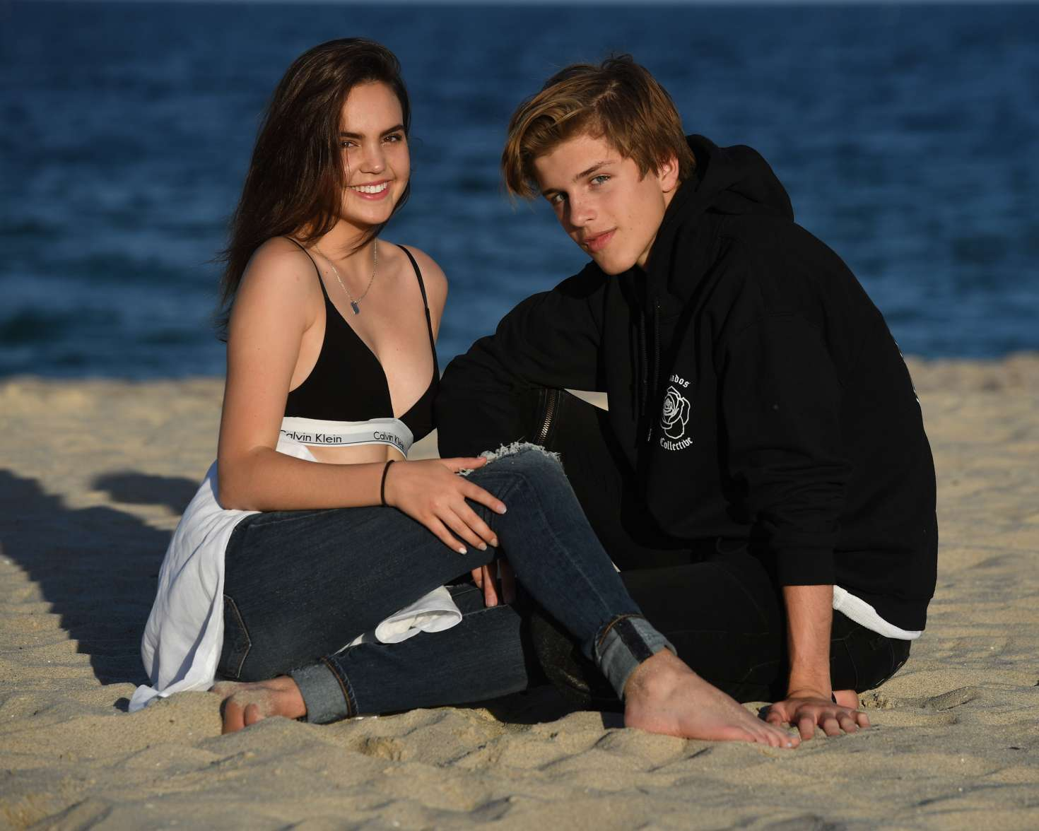 Bailee Madison and boyfriend Alex Lang on a photoshoot -49