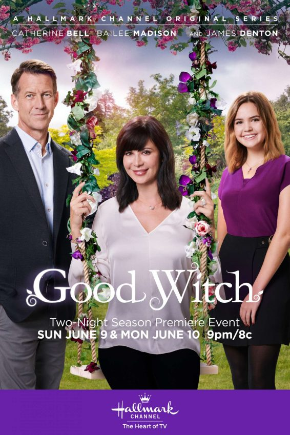 Bailee Madison and Catherine Bell - Good Witch Season 5 Poster Stills