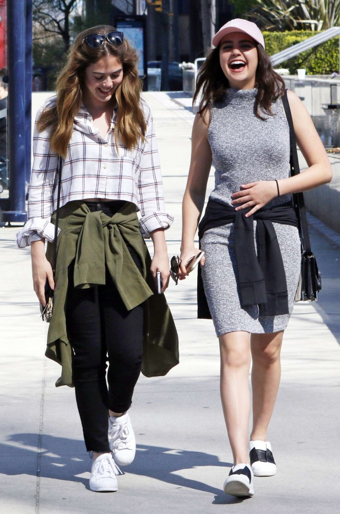 Bailee Madison and McKayley Miller Out in Vancouver