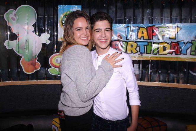 Bailee Madison - Asher Angel Celebrates his 16th birthday in LA