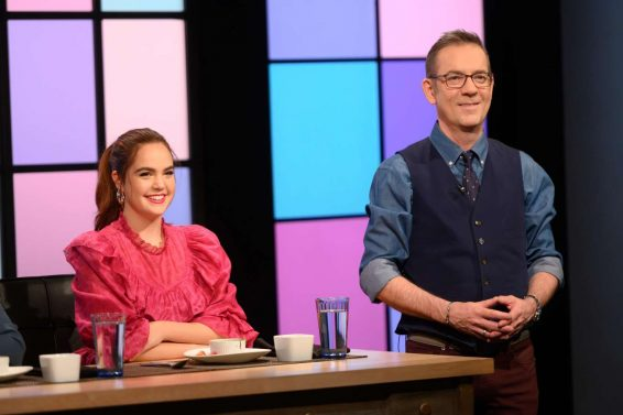 Bailee Madison at Food Network's Chopped