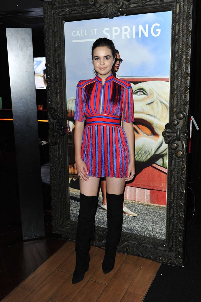 Bailee Madison - Call It Spring Hosts Private Event at Selena Gomez Concert in Los Angeles