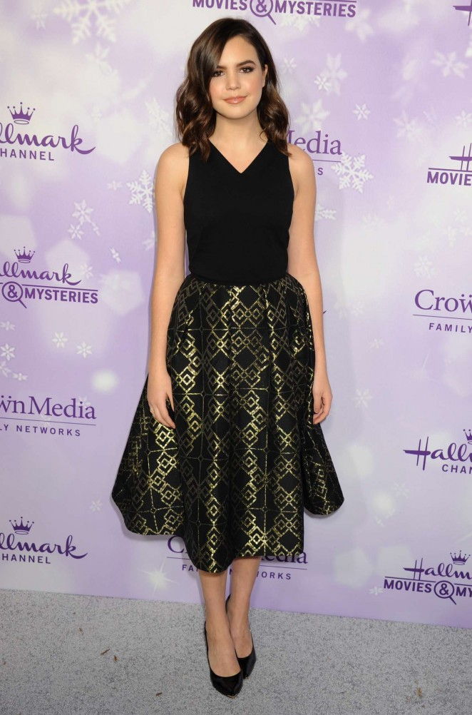 Bailee Madison – Hallmark Channel #Winterfest party at the 2016 Winter TCA Tour in California