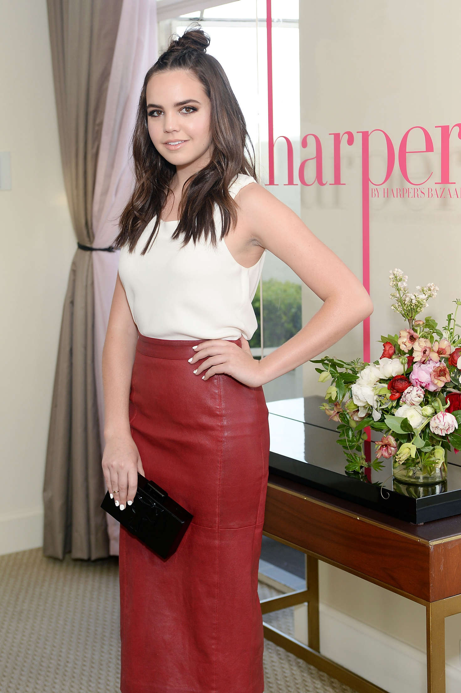 Bailee madison harper x harper s bazaar may issue event in west
