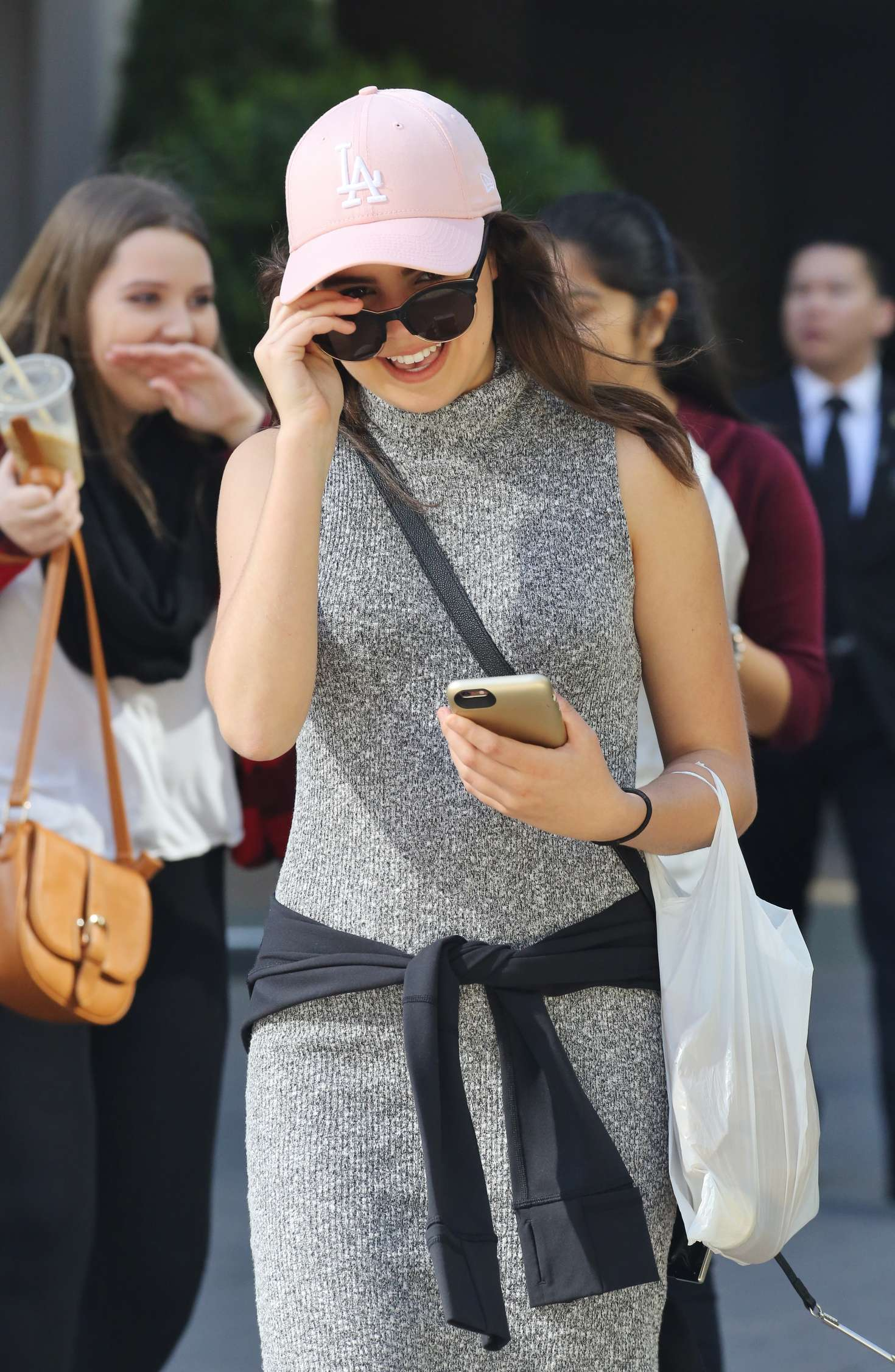 Bailee madison leaving her hotel in vancouver