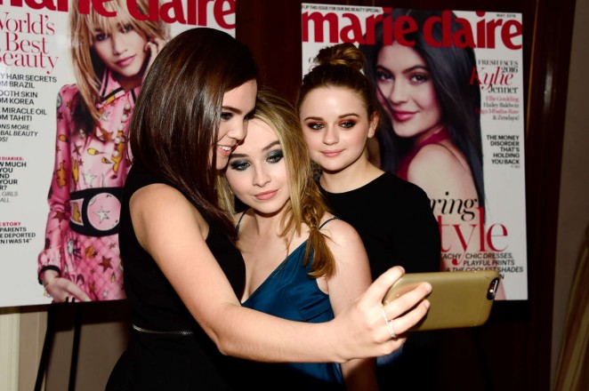 Bailee madison marie claire hosts fresh faces party celebrating may