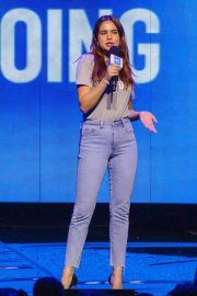Bailee Madison - On Stage For WE Day at The Tacoma Dome in Tacoma