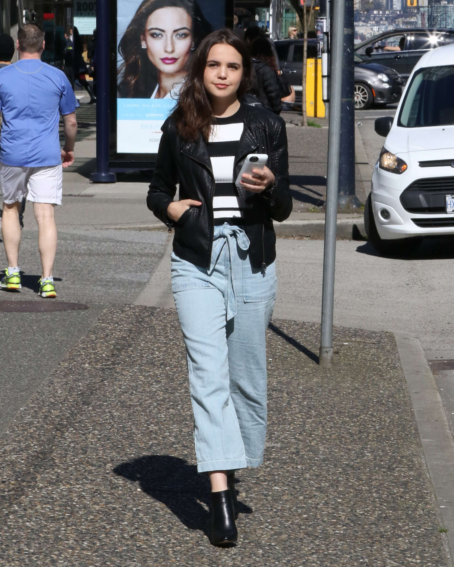 Bailee Madison - Out and about in Vancouver