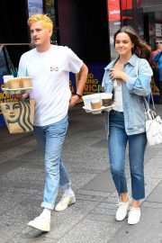 Bailee Madison - Out for a coffee in New York City