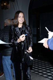 Bailee Madison - Outside Craig's Restaurant in West Hollywood