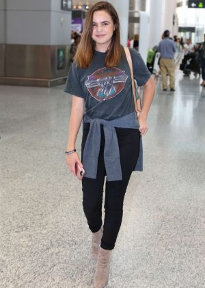 Bailee Madison - Pearson International Airport in Toronto