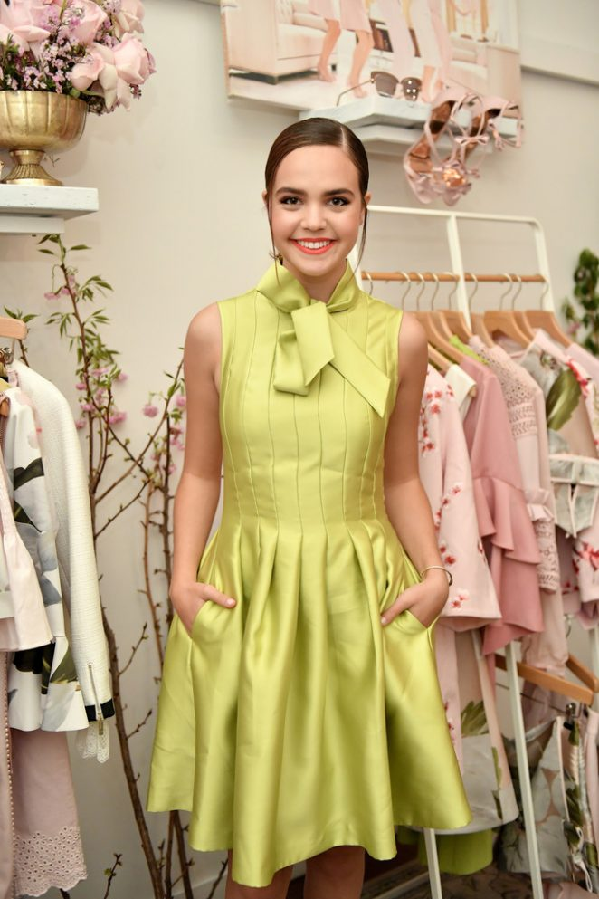 Bailee Madison - Ted Baker London SS 2018 Launch Dinner in LA