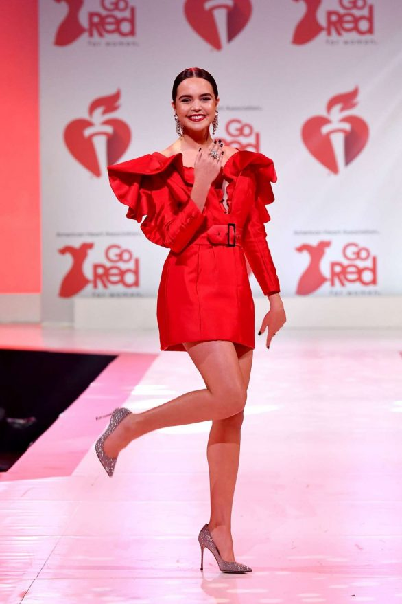 Bailee Madison - The American Red Heart Association's Go Red For Women Red Dress Collection in NY