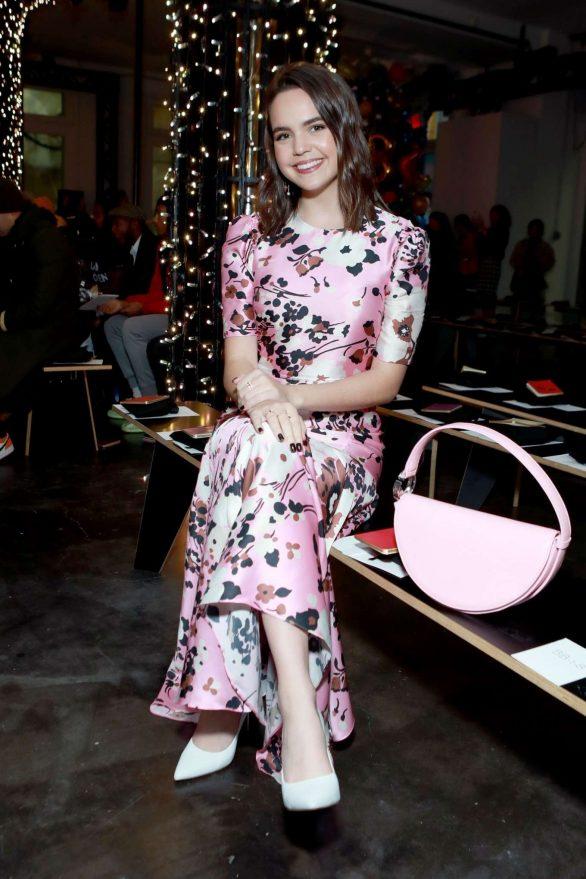 Bailee Madison - Veronica Beard Fashion Show 2020 at New York Fashion Week