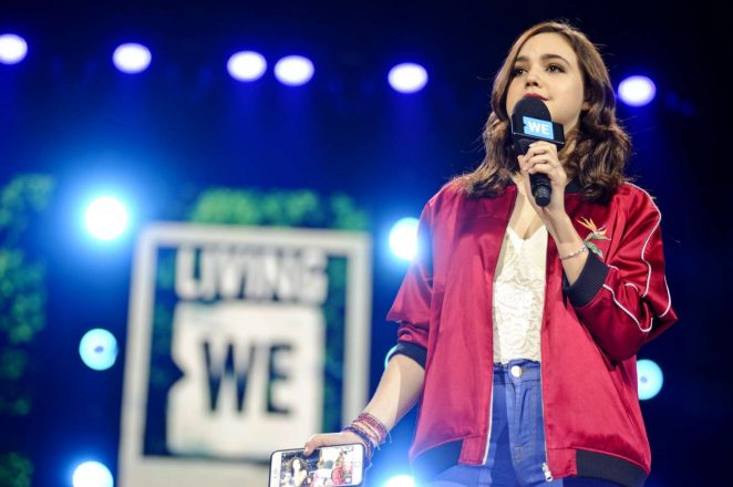 Bailee Madison - WE Day Ilinois at Allstate Arena in Rosemont