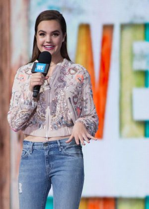 Bailee Madison - WE Day New York at Radio City Music Hall in NY