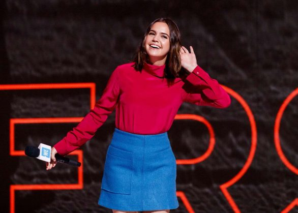 Bailee Madison - 'WE Day Vancouver' at Rogers Arena in Vancouver