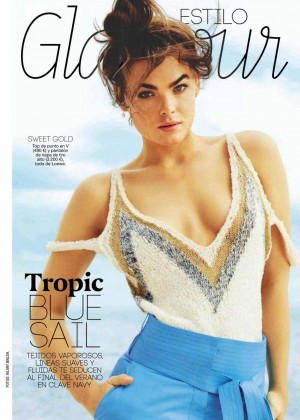 Bambi Northwood Blyth - Glamour Spain Magazine (August 2015)