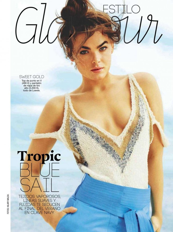 Bambi Northwood Blyth - Glamour Spain Magazine (August 2015)