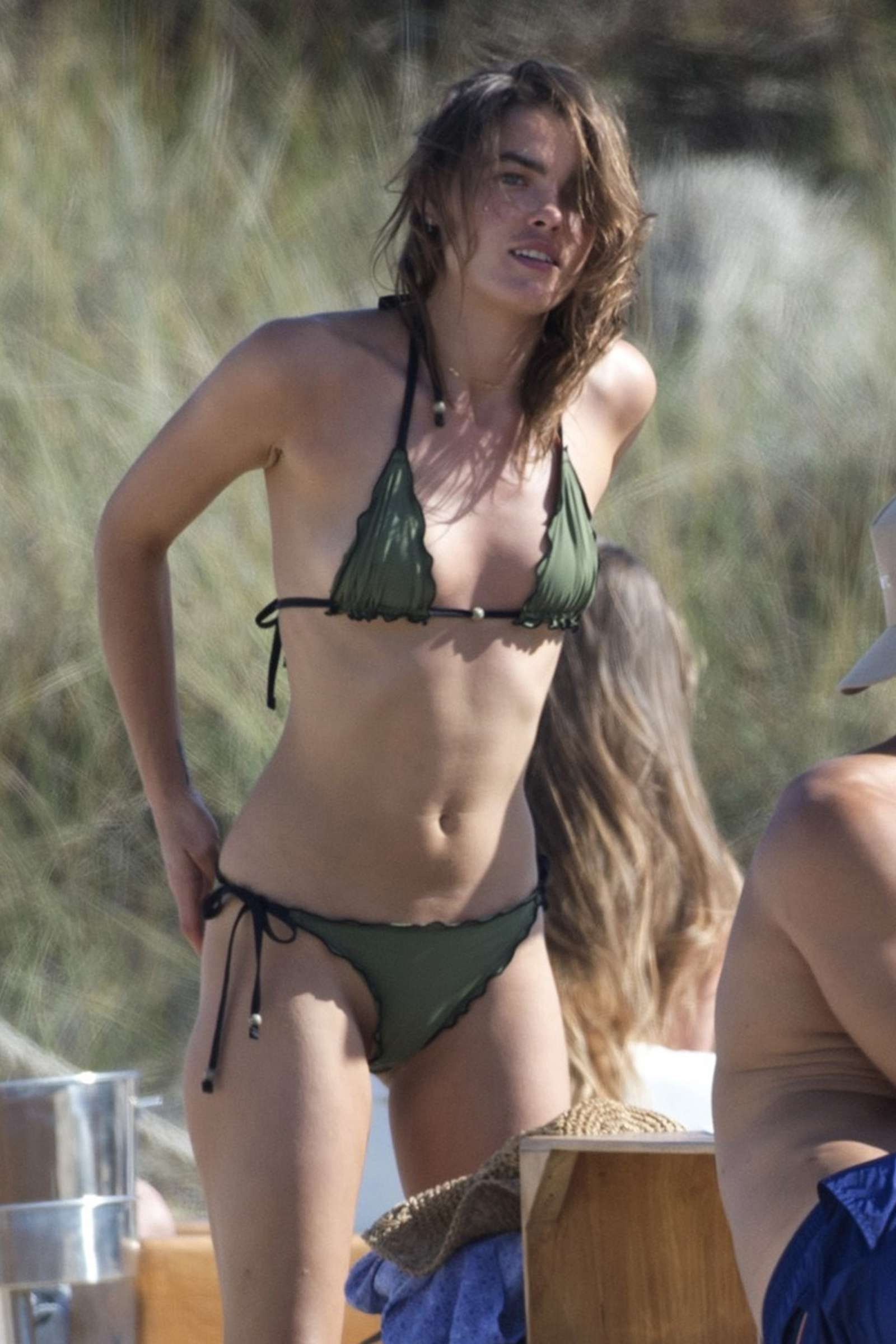 Mercedes Of Miami >> Bambi Northwood Blyth in Tiny Bikini on the beach in Ibiza ...