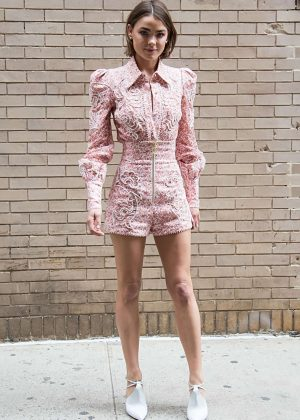Bambi Northwood Blyth - Zimmermann Fashion Show 2018 in New York