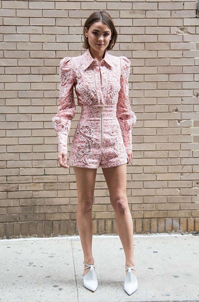 Bambi Northwood Blyth - Zimmermann Fashion Show 2018 in New York