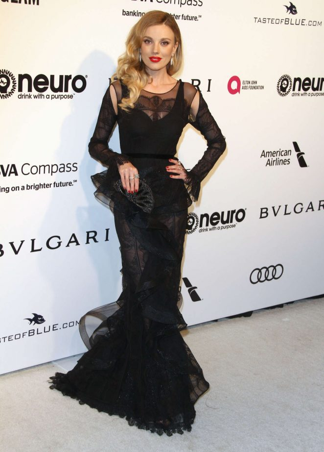 Bar Paly – 2017 Elton John AIDS Foundation's Oscar Viewing Party in West Hollywood
