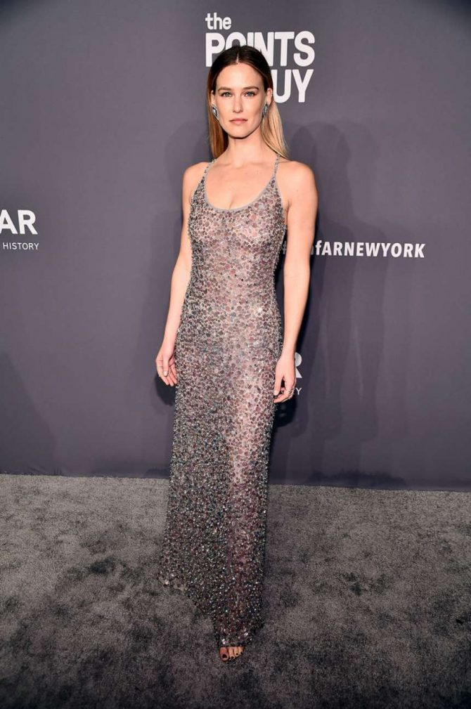 Bar Refaeli – amfAR New York Gala 2019 in NYC