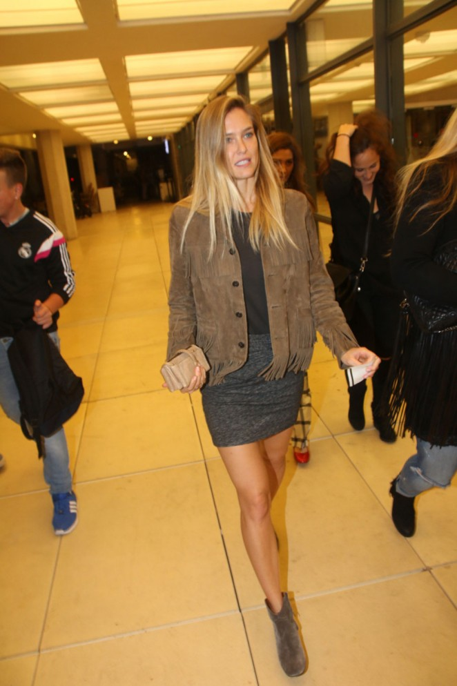 Bar Refaeli - Arrives at Charles Bronfman Auditorium in Tel Aviv