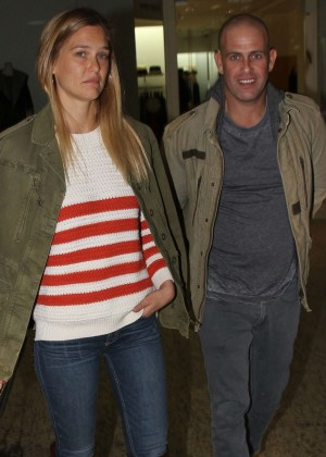 Bar Refaeli at City Garden Shopping Center in Tel Aviv