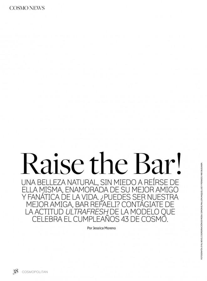 Bar Refaeli: Cosmopolitan Mexico 2015 -06
