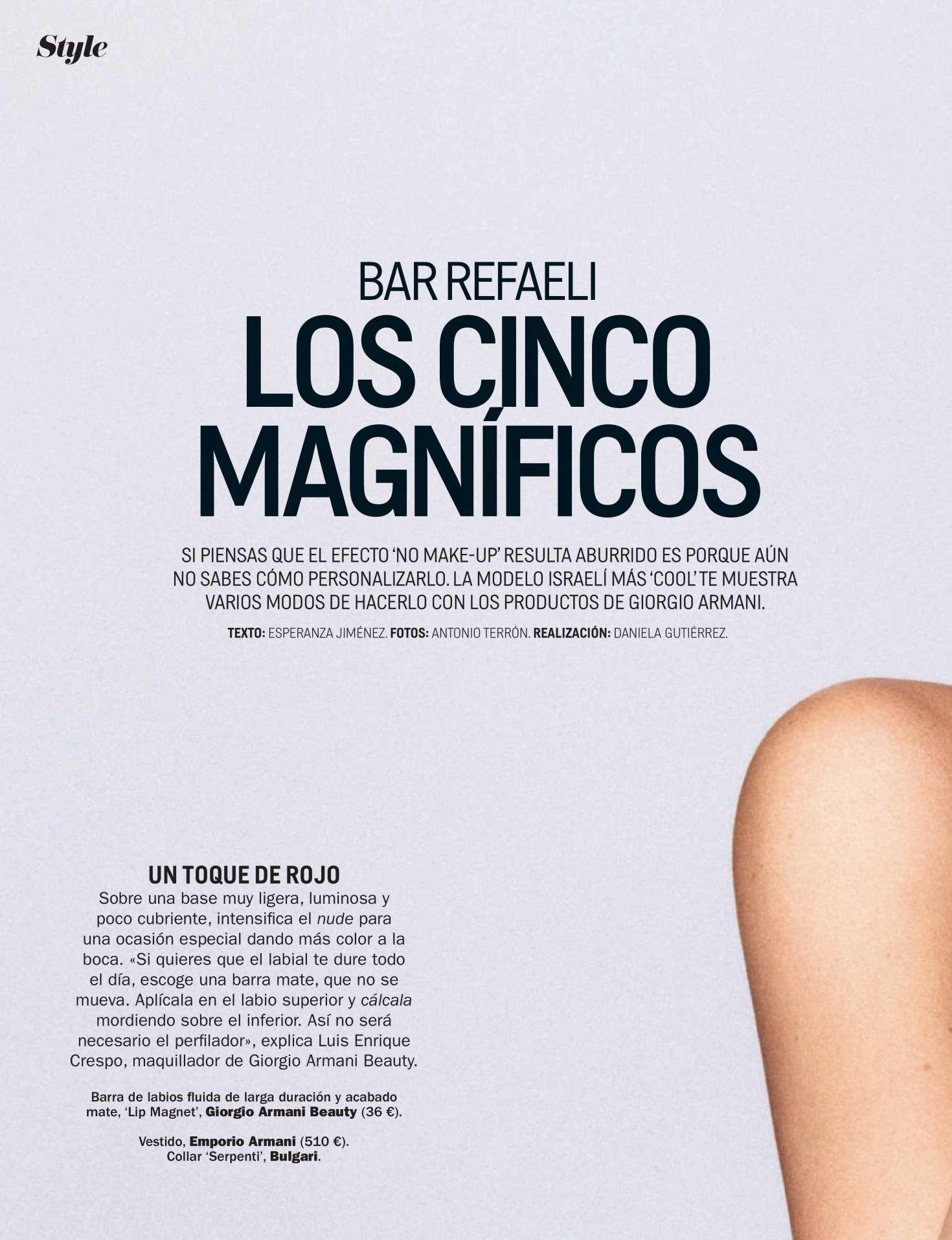 Bar Refaeli 2018 : Bar Refaeli: Cosmopolitan Spain 2019 -03