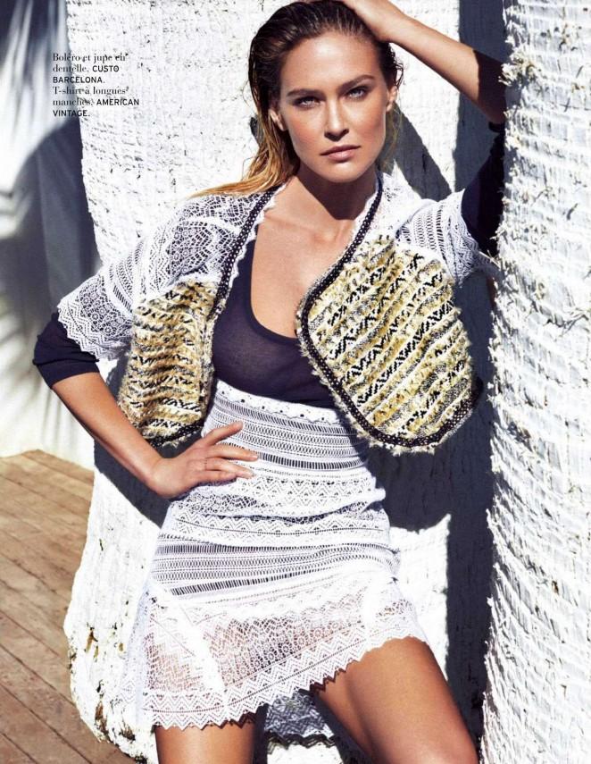 Bar Refaeli - Elle Belgium Magazine (May 2015)