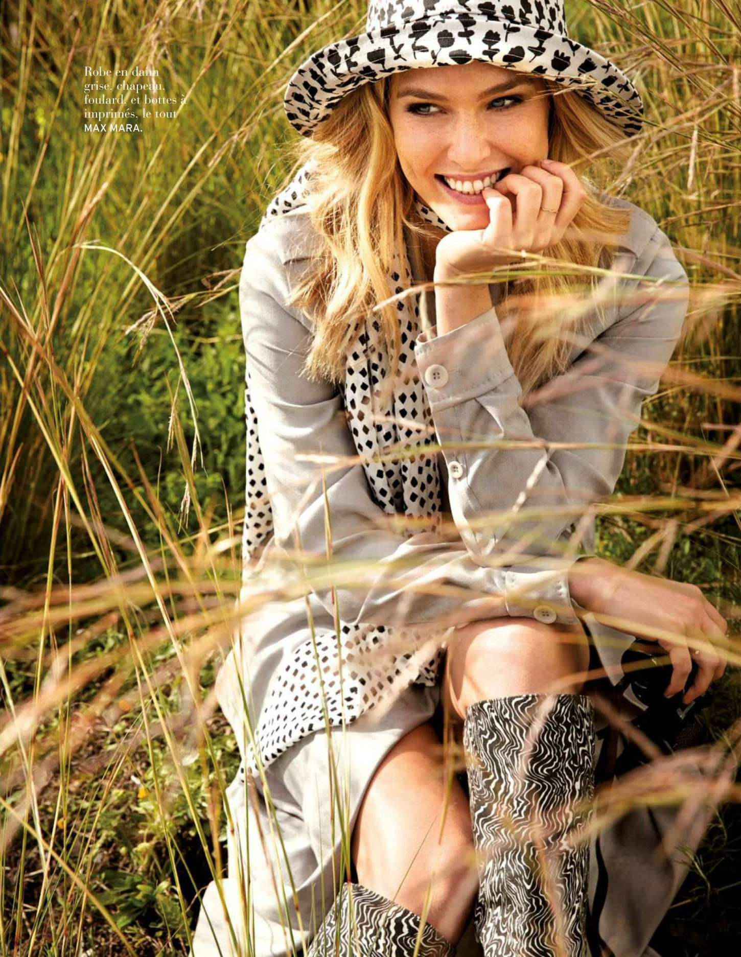 Bar Refaeli - Elle Magazine Spain May 2012 Issue | Just