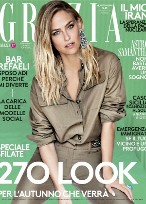Bar Refaeli - Grazia Italy Magazine (July 2015)