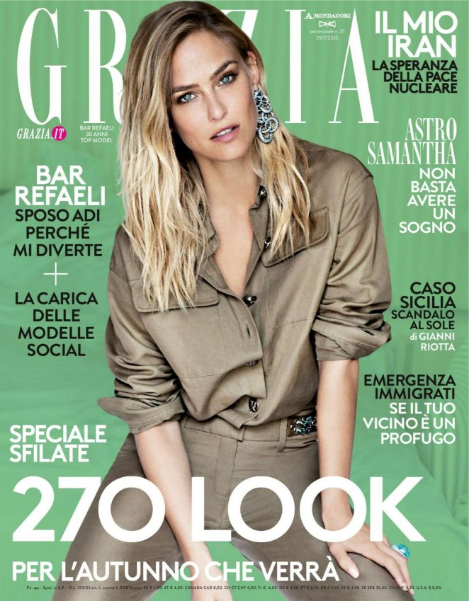 Bar Refaeli – Grazia Italy Magazine (July 2015)