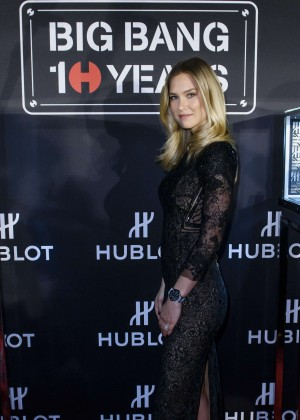 Bar Refaeli - Hublot Big Bang Collection 10th Anniversary Press Conference in Basel