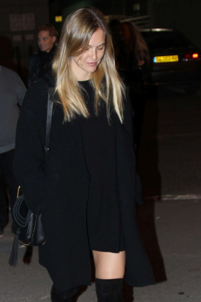 Bar Refaeli - Leaving Segev Express in Tel Aviv