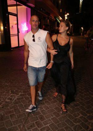 Bar Refaeli -Night out in Tel Aviv