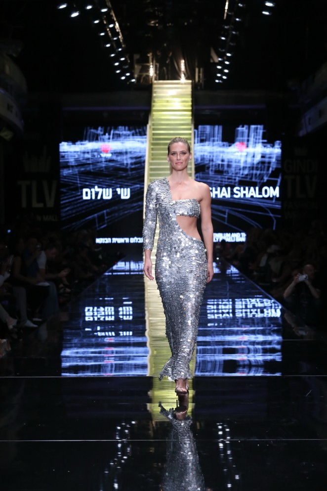 Bar Refaeli – Opening show during Gindi TLV Fashion Week 2015 in Tel Aviv